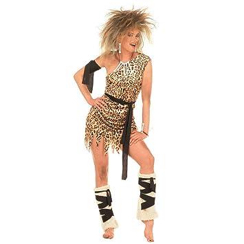 Amakando Dschungel Kostum Jane Damenkostum M 38 40 Leoparden