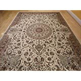 stunning silk rug persian traditional area rugs 7x10 living dining room ivory rugs luxury 6x9 silk high density living room rugslarge