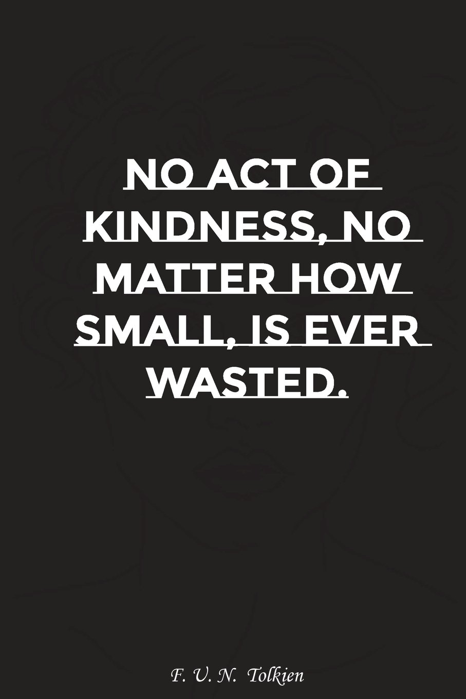 Download No act of kindness no matter how small is ever wasted: Motivation, Notebook, Diary, Journal, Funny Notebooks pdf epub