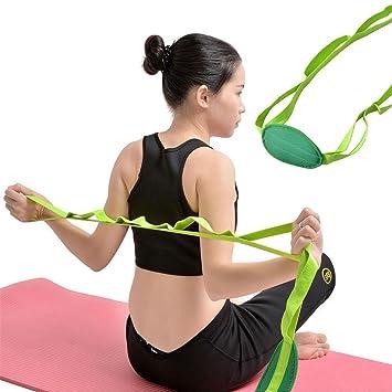 Amazon.com: Correa de yoga para estiramiento y ...
