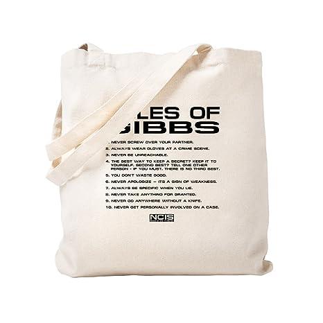 Amazon.com: CafePress – NCIS: Gibbs Rules2 – Bolso bolsa de ...