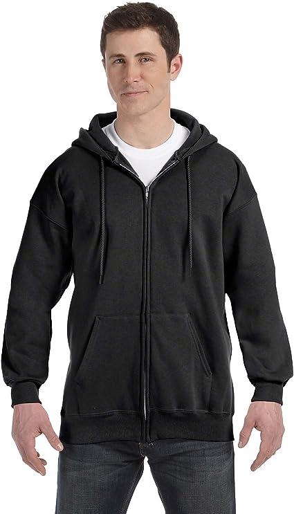 Hanes Ultimate Cotton Full-Zip Hooded Sweatshirt F280