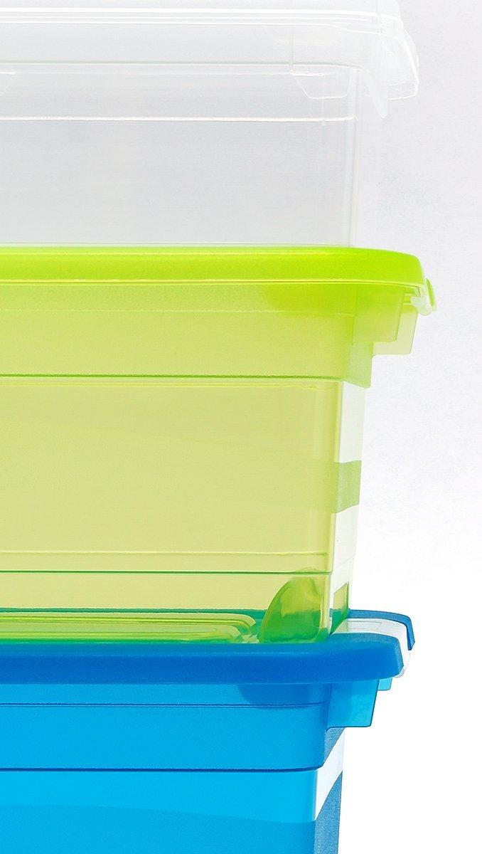 OKT 2053465 Bo/îte de Cristal Plastique Transparent 7 L