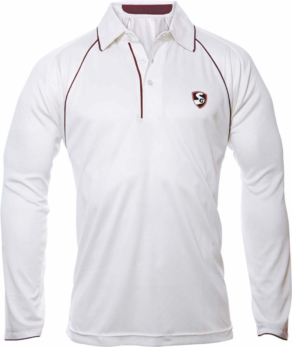 Cricket t shirt white - Buy Sg Premium Cricket T Shirt Jersey White Online At Low Prices In India Amazon In