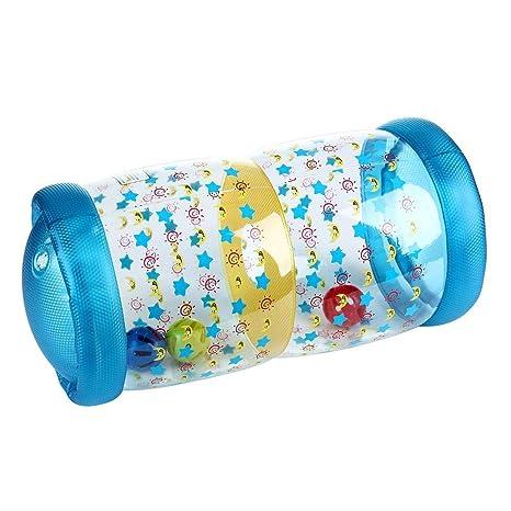 Volwco Rodillo Inflable Recién Nacido Baby Roller con Bola de ...