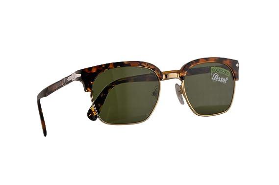 Persol 3199-S Gafas De Sol Marrón Con Lentes Verde Oscuro ...
