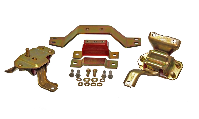 Energy Suspension 4.1130R MUSTANG 4.6L MOTOR /& TRANS MOUNT