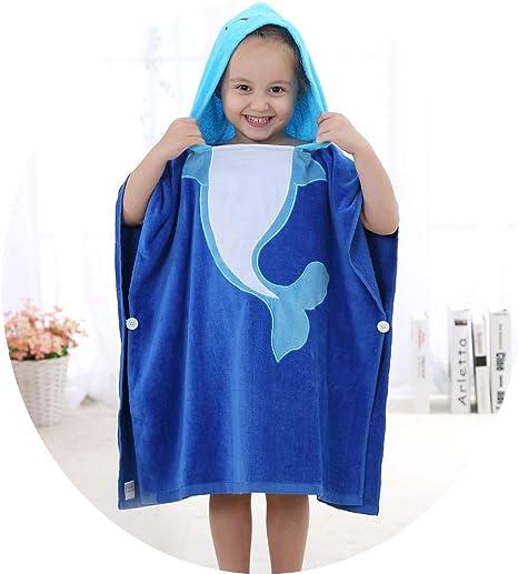 Bebé Toalla de baño con albornoz de algodón para niños Niños de ...