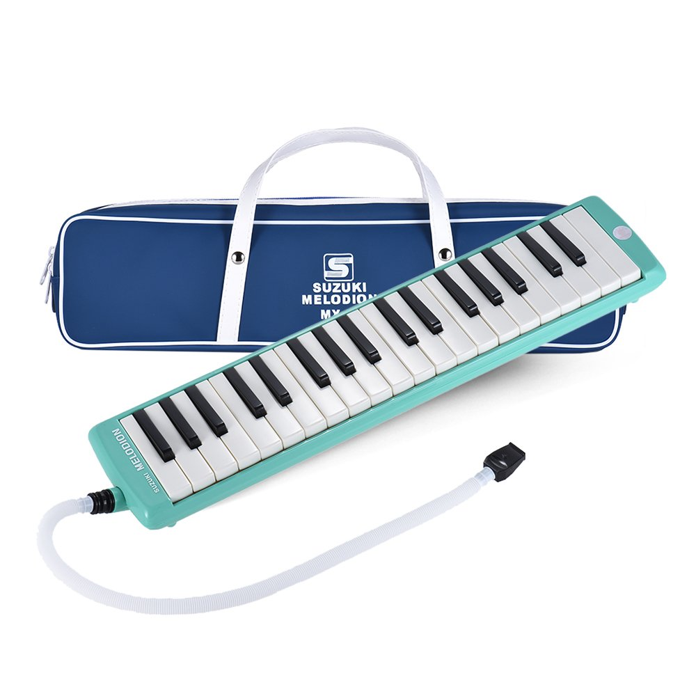 Festnight Melodica Instrument, 37 Keys Musical Educational Melodion Pianica with Carry Bag for Kids Children Students