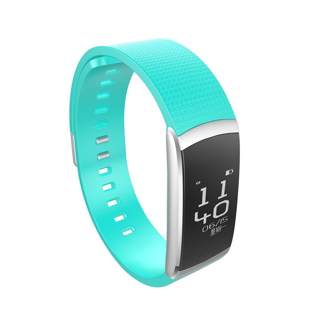 LDD SPORTS i6pro pantalla grande anillo de mano inteligente ritmo cardíaco mensaje de control de empuje deportes podómetro , black