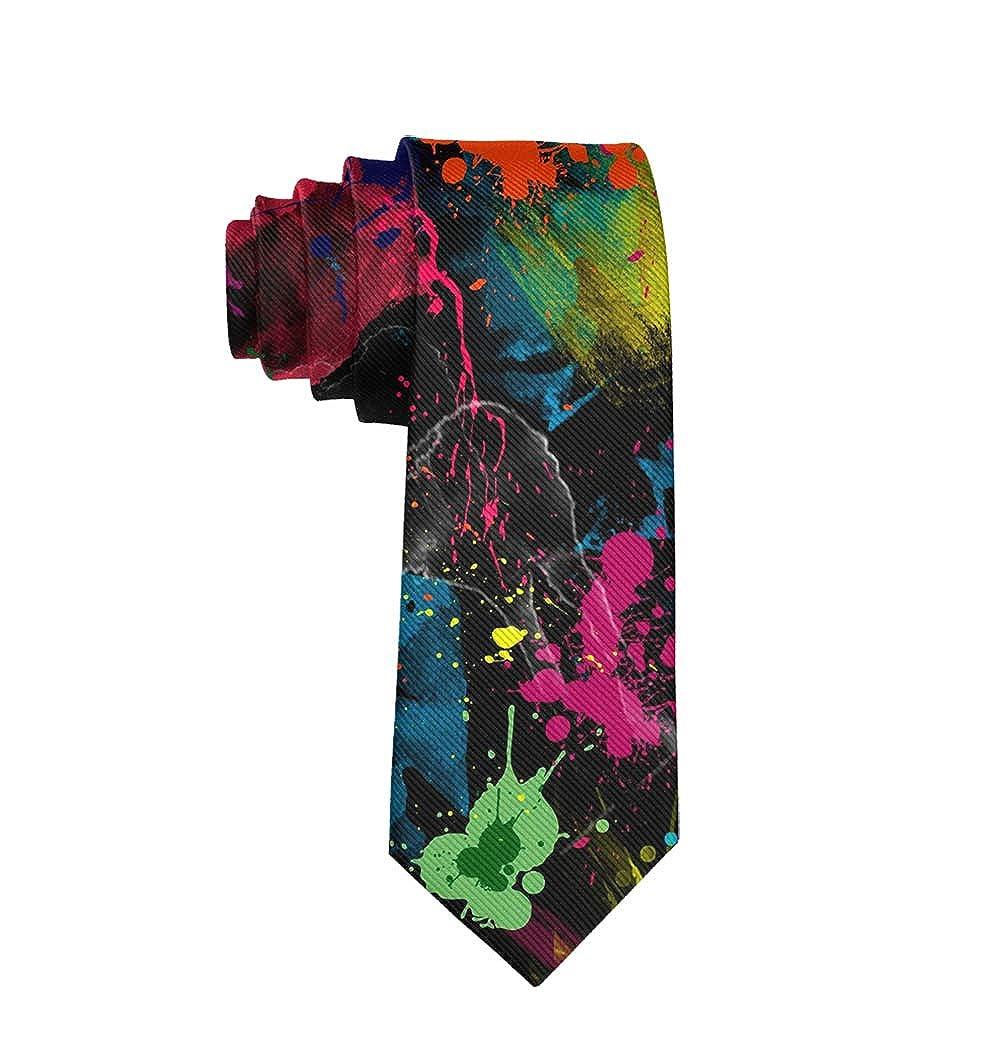 Graduation Party Tie Skinny Necktie Tie Mens Gift Printed Tie