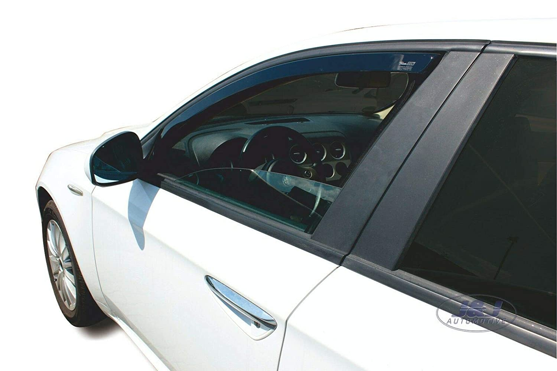 J/&J AUTOMOTIVE DAL10110 Alfa Romeo 159 2005-pr/és 4p Deflecteurs dair D/éflecteurs de Vent 2pcs