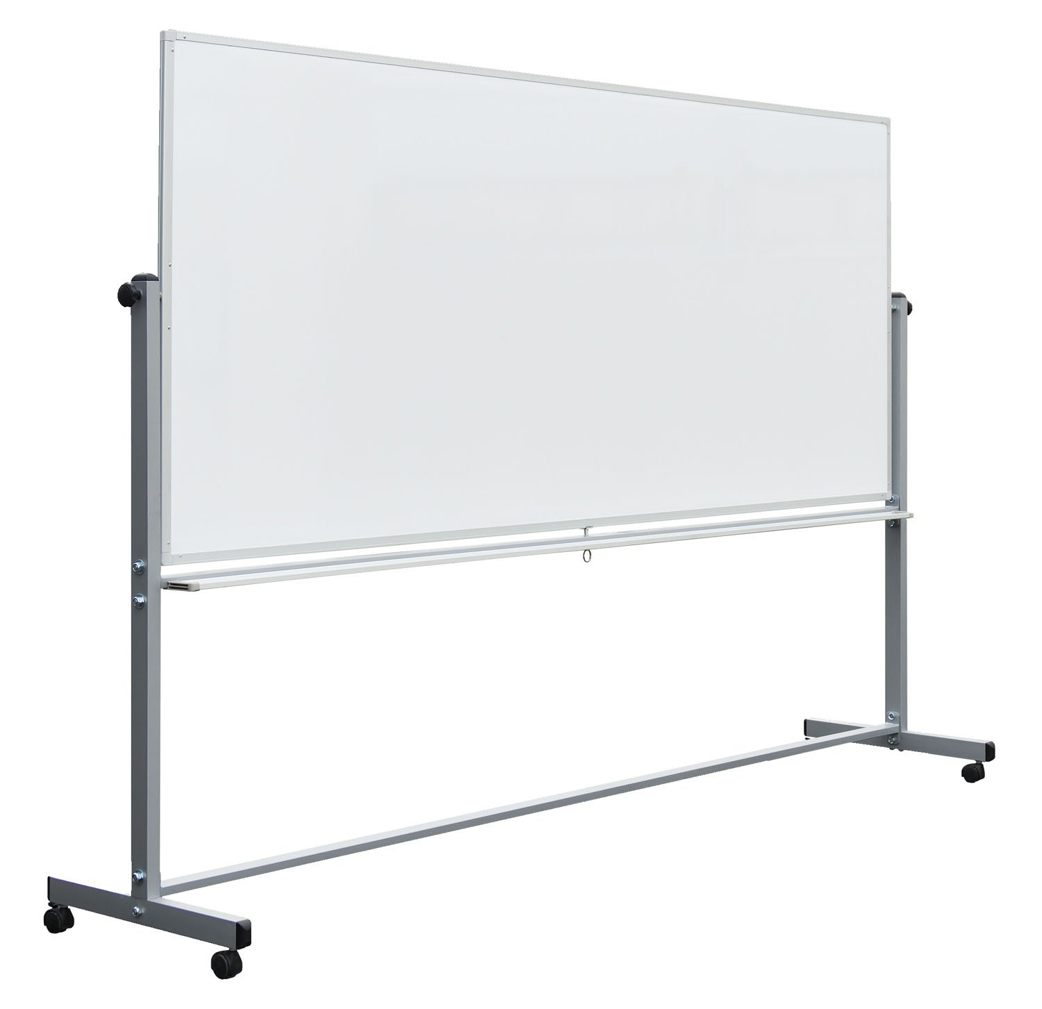 Luxor School Office Reversible Magnetic Mobile 96''x40'' Whiteboard by Luxor