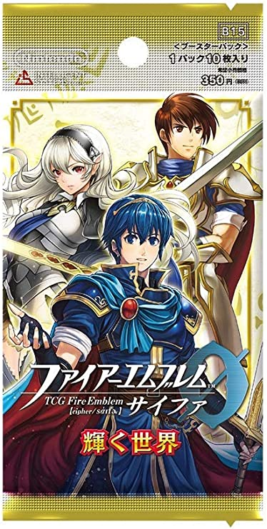 Fire Emblem (1pack) TCG 0 (Cipher) Booster Pack Shining World (10 Cards in): Amazon.es: Juguetes y juegos