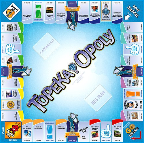 Late For The Sky 730799001611 Topeka-opoly