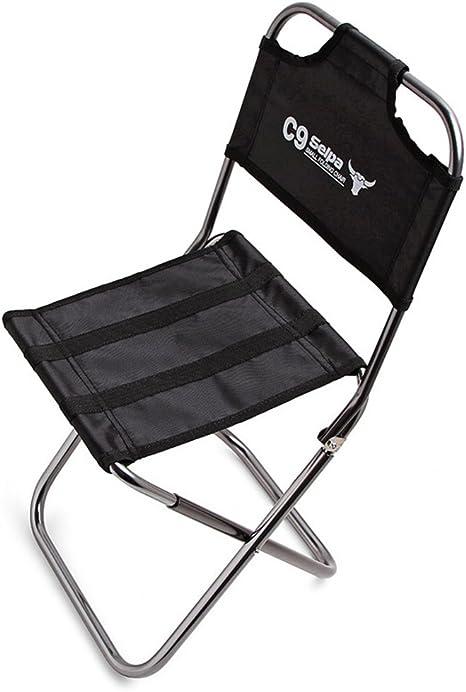 Paramount City Topchances - Taburete plegable de aluminio ligero y portátil, para pesca, senderismo, camping, picnic, viaje (silla plegable)