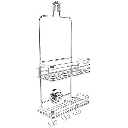 Amazon.com: Vidan Home Solutions Modern Hanging Shower Caddy ...