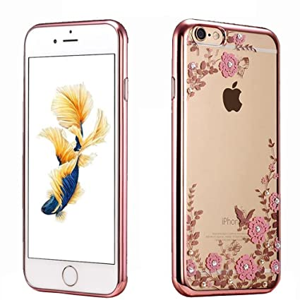 iphone 5s rose gold. iphone se, 5s case, 5 cellaria butterfly floral series - iphone 5s rose gold
