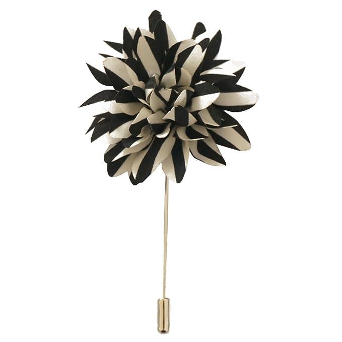 Amazon.com: SUNNY Hogar de los hombres Flower Stick broche ...