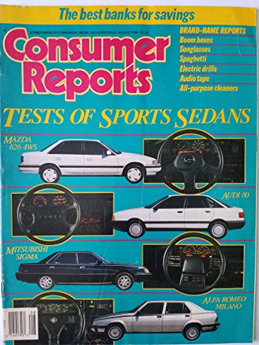 Consumer Reports August 1988 - Test of