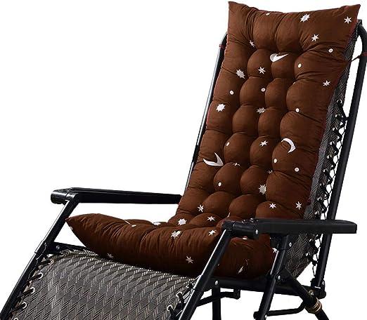 SUPERLOVE Chaise Lounge Cojín Cojín para Silla De Jardín Cojines ...