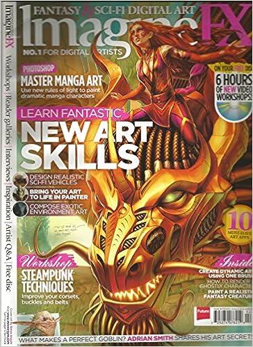Imagine Fx Magazine February 2013 Steampunk Workshop Ian