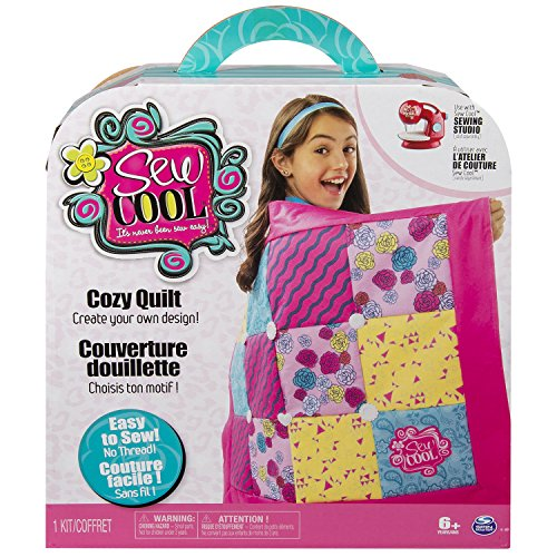 Sew Cool - Cozy Quilt - Fabric Kit - Threadless Sewing Machine