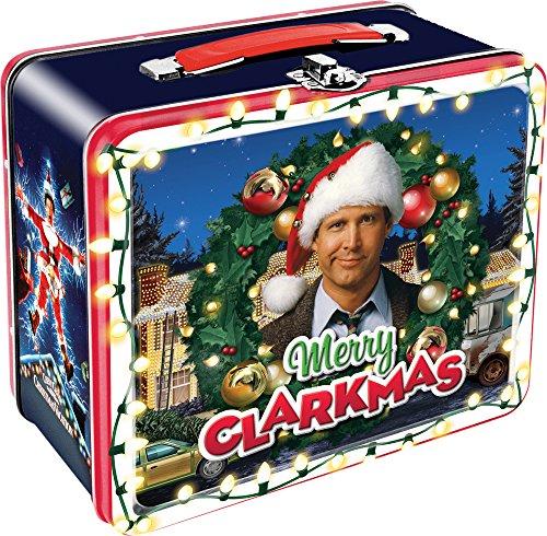 Christmas Fun Box - Aquarius Christmas Vacation Large Tin Storage Fun Box