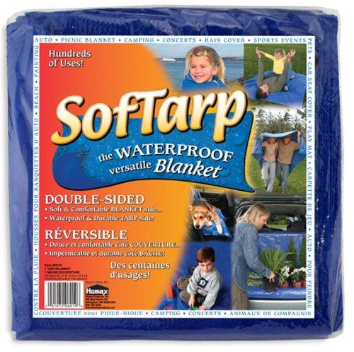 Sport Utility Tarp/Blanket, Blue, 5'x7', Softarp Blanket 5'x7' PPG 6019-06