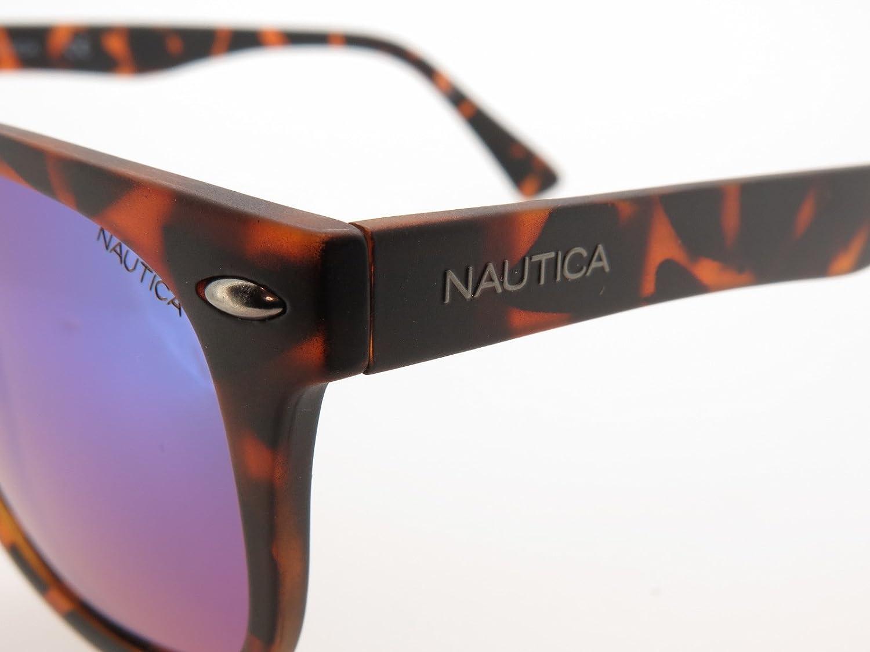 77c48738c9b12 Óculos de Sol Nautica N3609sp 237 54 Tartaruga Fosco Escuro  Amazon.com.br   Amazon Moda