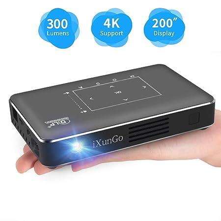 WOLJW Mini proyectores HD para Cine en casa/al Aire Libre ...