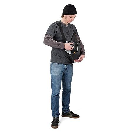 使い勝手がイイ!ロープロ製 薄型のカメラスリングバッグ スリングショットエッジ 250AW3 5.6L