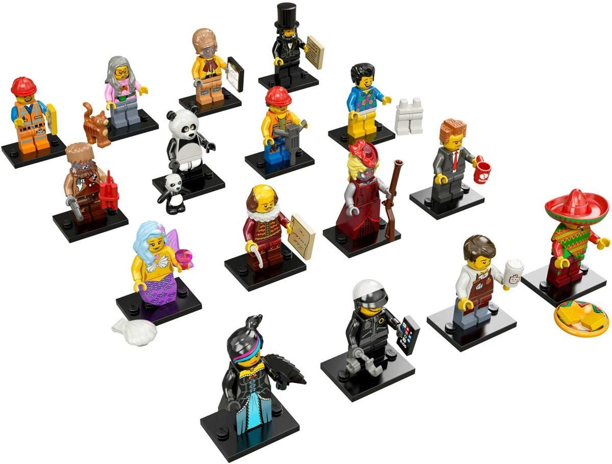 The Lego Movie Calamity Drone Minifigure Series 71004