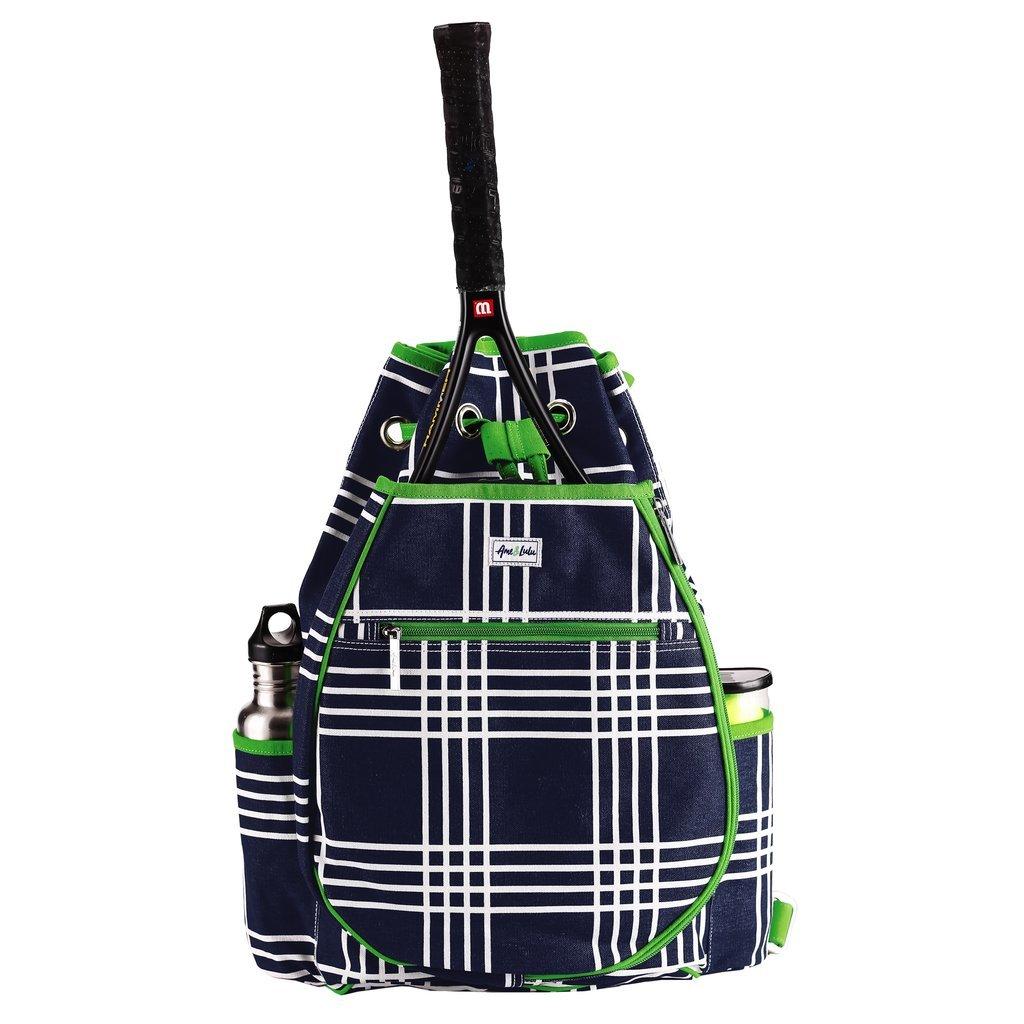 Ame & Lulu Parker Plaid Kingsley Tennis Backpack