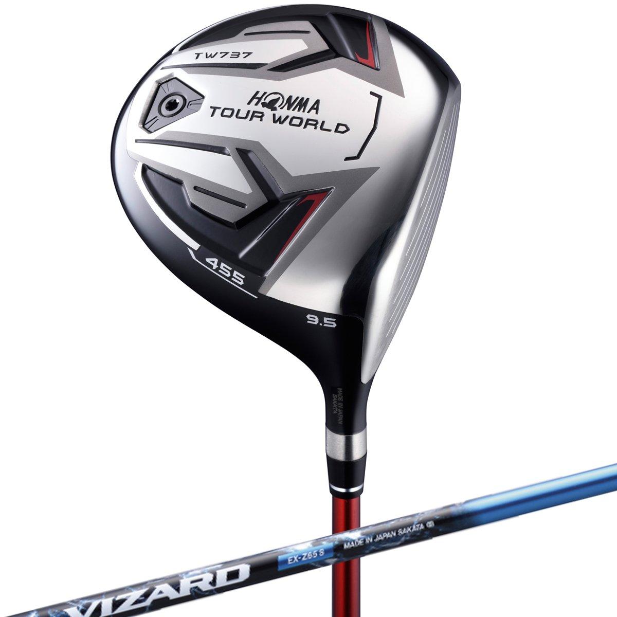 本間ゴルフ ドライバー TOUR WORLD ツアーワールド TW737 455 ドライバー 10.5度 VIZARD EX-Z 65シャフト フレックス:S TW737-455 右 ロフト角:10.5度 番手:1W B01MAZ8R86