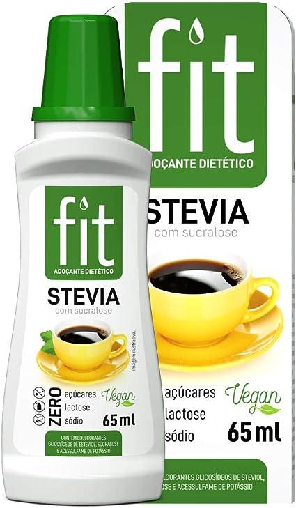 Adoçante Stevia com Sucralose Fit 65ml