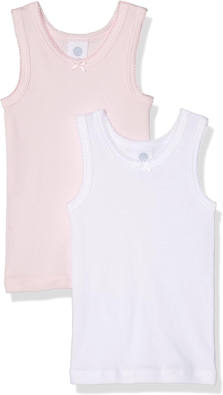 Pacco da 2 Bambina Sanetta T-Shirt