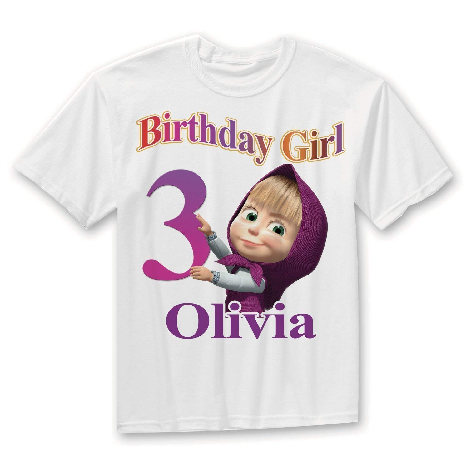 774bd20d9 Amazon.com: Masha and Bear Birthday Shirt, Masha and bear Family Birthday  Shirts, Masha birthday shirt, Masha party, Masha and bear party: Handmade