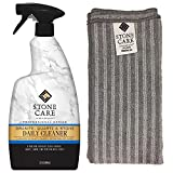 Granite Cleaner and Microfiber Cloth - 32 Fluid Ounces - Stone Care International - Granite Quartz and Stone Daily Cleaner