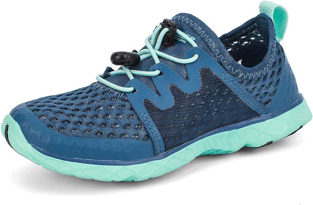 ALEADER Kids Aqua Water Shoes Run Water Camp Beach Walk