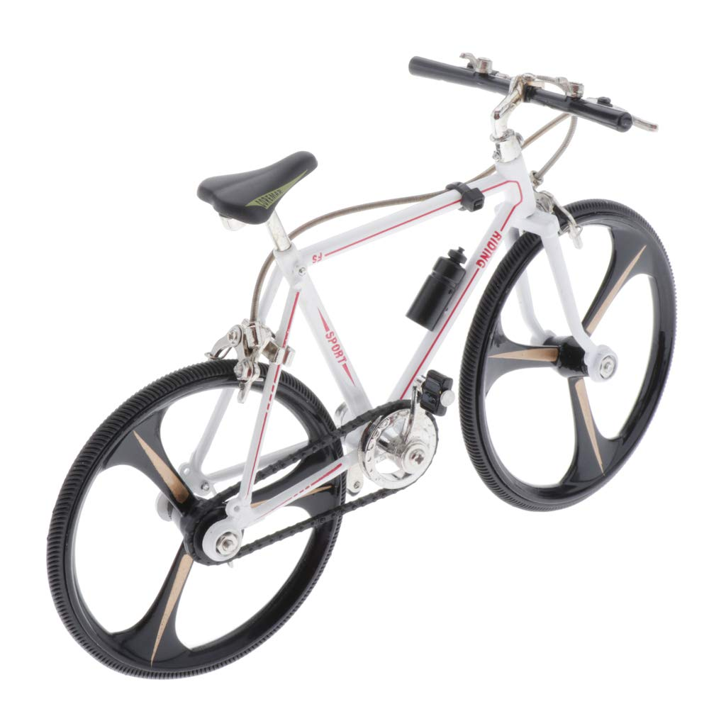 LEIPUPA High Performance Zinc Alloy Mini Bicycle Toy - Finger Bike for Collections - Mini Extreme Sports Finger Bicycle - Style1 by LEIPUPA