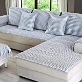 Sofa Cover Sofa Cool Mat Living Room All-Inclusive Mat Ceramic Mat 1/2/3 Seater Universal Cover For Summer,5050Cm