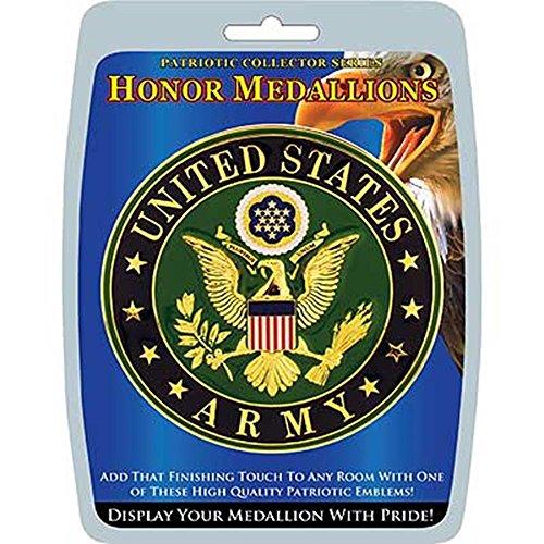 - EagleEmblems MD1005 Medallion-Army (4'')