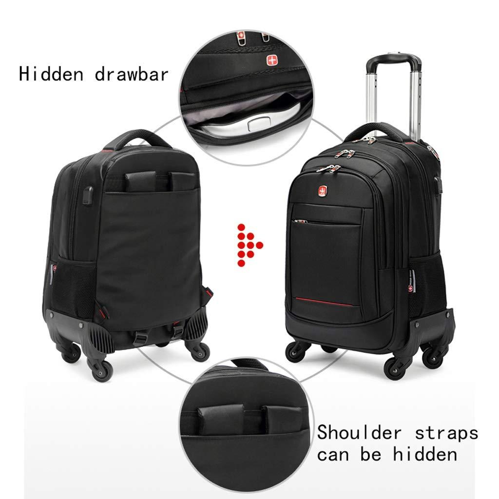 7142cfb16574 Amazon.com: Travel bag SunHai Trolley Bag, Backpack, Luggage Storage ...