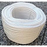 Corde en polypropylène Blanc 20m x 6mm