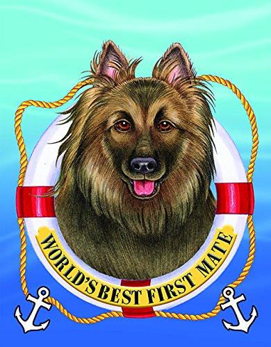 Belgian Tervuren Breed - Best of Breed Belgian Tervuren - Tomoyo Pitcher First Mate Garden Flag
