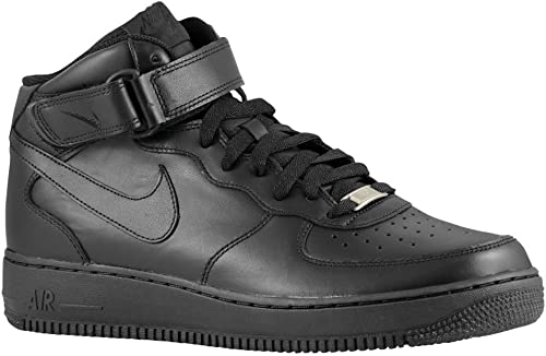 air force 1 mid negras