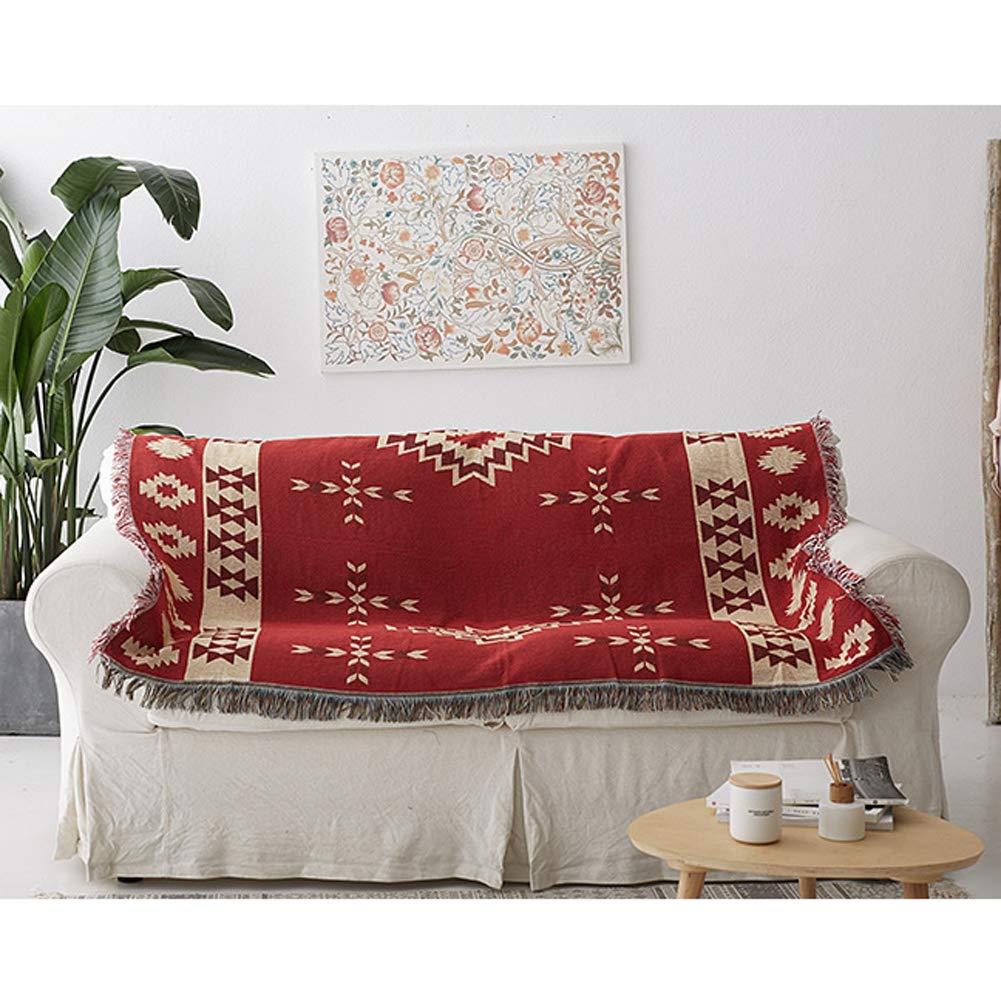 Amazon.com: AIURLIFE Bohemia - Manta de punto de algodón ...