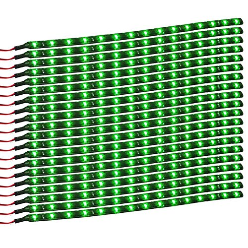 12 Volt Green Led Light Strips Waterproof - 4