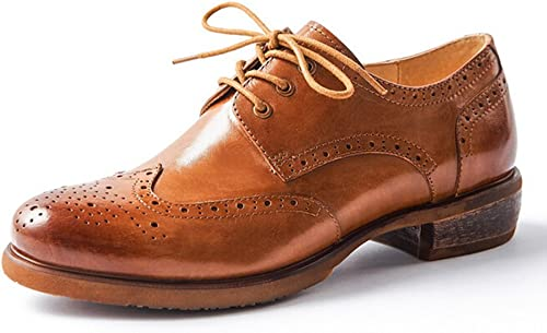 Oyang Women Oxford Leather Shoes Ce208 Brown Amazon Ca Shoes Handbags